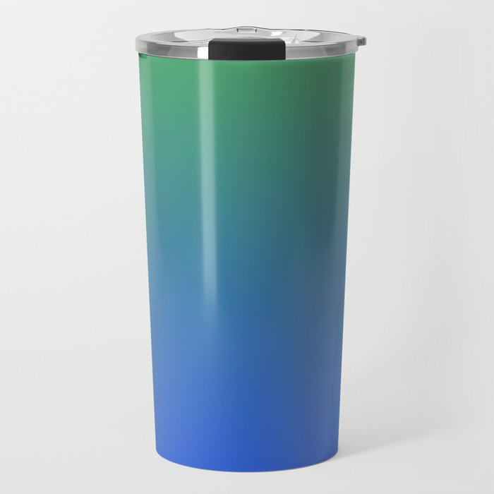 RESTING STATE - Minimal Plain Soft Mood Color Blend Prints Travel Mug