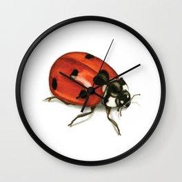Ladybug Beetle Wall Clock
