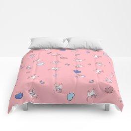 Sylveon Pink Print Comforters