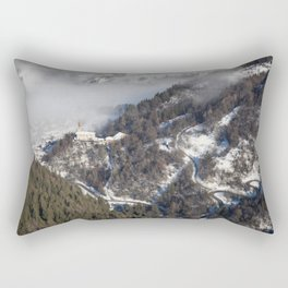Saint Michel Church of Landry Rectangular Pillow