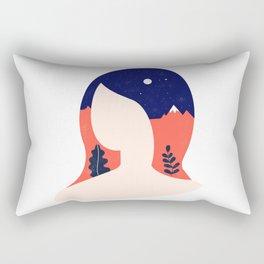 Girl World Rectangular Pillow
