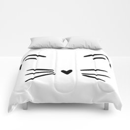 Cute Cat  Kitty Kitten Comforters