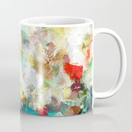 Spring Abstract Painting Coffee Mug