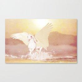 HORSE - Pegasus Canvas Print