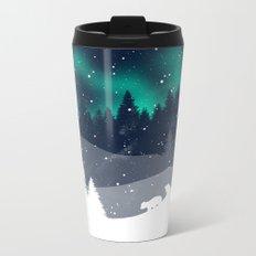 Stardust Horizon Metal Travel Mug