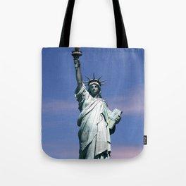 Statue of liberty Photograph Tote Bag