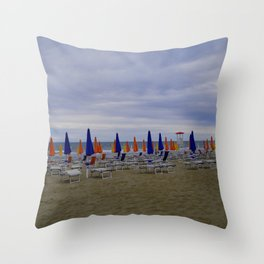 Summer Is Ending With Flying Colors Throw Pillow
