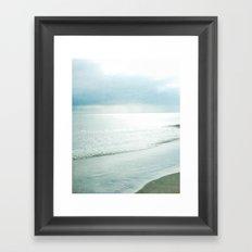 Silent Sea Framed Art Print