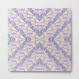 Cure Geometric Print Metal Print