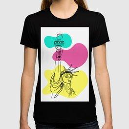 Statue of Liberty Illustration T-shirt
