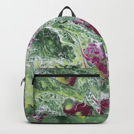 Flowers In The Window Backpack