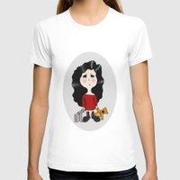 cartoon T-shirts featuring cartoon by Necla Karahalil