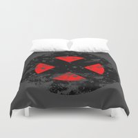 xmen Duvet Covers featuring XMen by sambeawesome