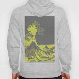 The Great Wave Yellow & Gray Hoody