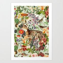 Nature's Innocence I Art Print