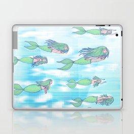 Mermaid migration Laptop & iPad Skin