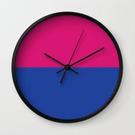 Gender Binary Flag Wall Clock