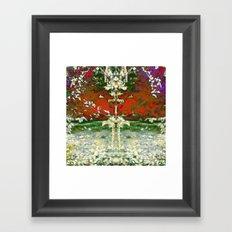 Blooming Ballet Framed Art Print