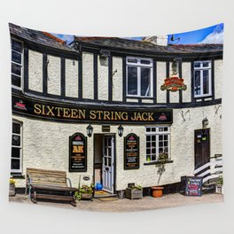 The Sixteen String Jack Pub Wall Tapestry