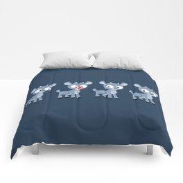 Hey look, it's Rudolph! Comforters