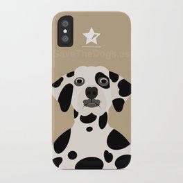Dálmata iPhone Case