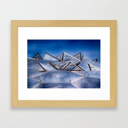 Eden Project Roof Framed Art Print