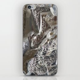 Silver Crystal First iPhone Skin