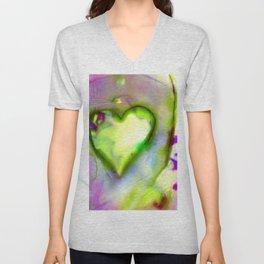 Heart Dreams 4L by Kathy Morton Stanion Unisex V-Neck