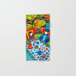 Alice in Wonderland #7 Hand & Bath Towel