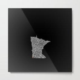 State Secrets - Minneota Metal Print
