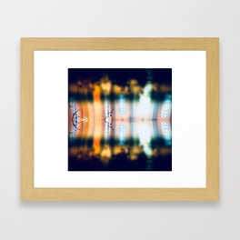 Distorted Vision Framed Art Print