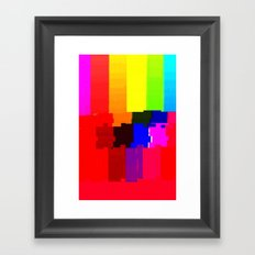 Melt Framed Art Print