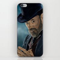 moriarty iPhone & iPod Skins featuring Professor Moriarty by San Fernandez