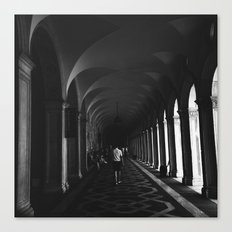 Going back Canvas Print