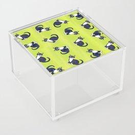 Tuxedo swirls Acrylic Box