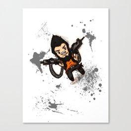 Borderlands 2 - Chibi Gunzy! Canvas Print