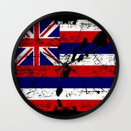 Hawaii Nei Wall Clock