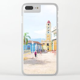 43. Colorful Trinidad, Cuba Clear iPhone Case