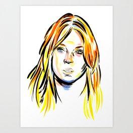 Lindsay Art Print
