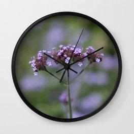 Soft Purple Wall Clock