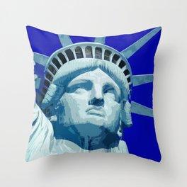 Liberty_2015_0404 Throw Pillow