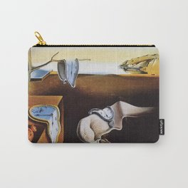 THE PERSISTENCE OF MEMORY - SALVADOR DALI Carry-All Pouch
