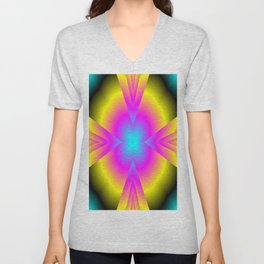 spectral colors Unisex V-Neck