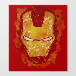 The Iron Mask Canvas Print