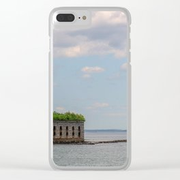 Ocean Fort Clear iPhone Case