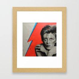 'Bolt of Bowie' Framed Art Print