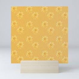 Yellow Orange Bows Mini Art Print