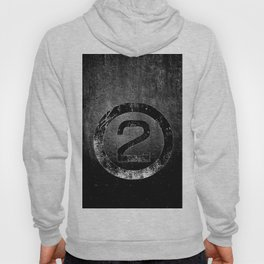 Bold Black and White 2 Hoody