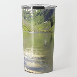 A summer cool off by the alpine lake Fallensee Travel Mug