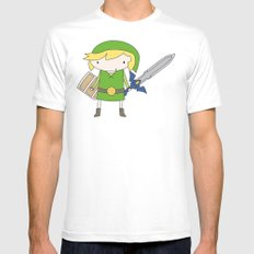 Link - Wind Waker Mens Fitted Tee MEDIUM White